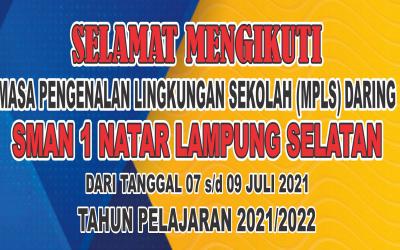 Sambutan Kepala Sekolah pada MPLS daring TP 2021/2022